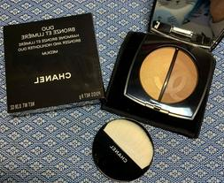 chanel duo bronze et lumiere bronzer and highlighter duo med