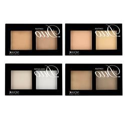 Nicka K Duo Contour & Highlighter Face Makeup Pressed Powder