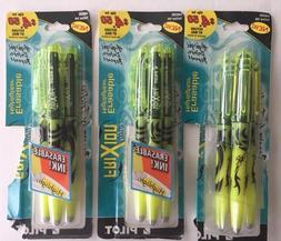 Pilot Erasable Highlighter Yellow Pens 3 Packages,  Total of