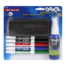 Expo Seven Piece Low Odor Dry Erase Starter Set