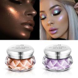 Face Highlighter Jelly Gel Mermaid Eyeshadow Glow Body Glitt