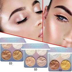 Face Powder Highlighter Bronzer Makeup Contour Palette Powde