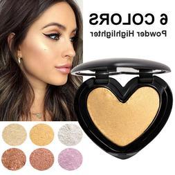 Face Powder Highlighter Palette Illuminator Contour Glow Mak