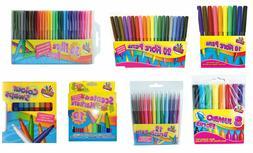 Felt Tips Drawing Markers Colouring Art Crafts School Creati