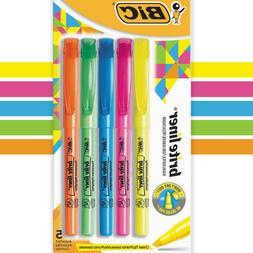 fluorescent highlighters chisel tip highlighter pen set