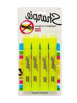 Sharpie Fluorescent Yellow Highlighter 4 Pack