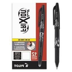 FriXion Ball Erasable Gel Pen; Black Ink; 0.7mm Fine