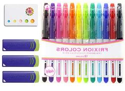 Pilot Frixion Erasable Coloring Pens 12 Pack with Sticky not