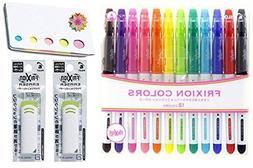 Pilot Frixion Colors Erasable Marker - 12 Color set/Value se