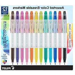 Pilot FriXion Colors Erasable Marker Pen Bold Point  Assorte