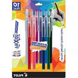 PILOT FriXion Color Sticks Erasable Gel Pens 10-pack of Asso