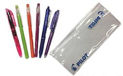 Pilot Frixion pk Zip Pouch with 2 FriXion Pens 3 FriXion Col