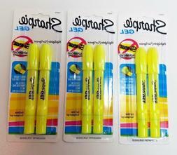 Sharpie Gel Bullet Highlighter, Fluorescent Yellow 6 count