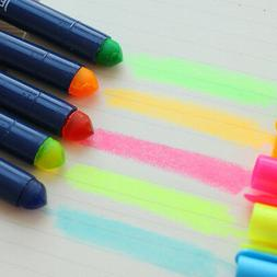 Gel Solid Highlighter Fluorescent Trend Twist Up Markers Pen