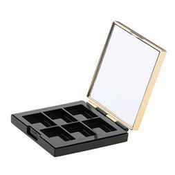Dovewill Cosmetic 6 Girds Empty Palette Box Eyeshadow Powder