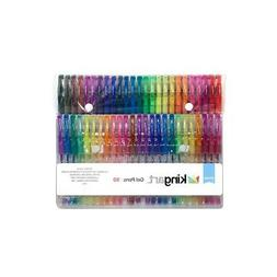 KINGART 400-50 Glitter 50 Pack with 50% More Ink Artists Sof