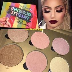 Okalan Glowing Palette Glow Kit Highlighter Palette Highligh