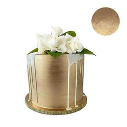 GOLD HIGHLIGHTER Metallic Dust Cake Fondant Wedding Decorati