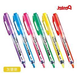 Pentel Handy-line Highlighter Colors Pens Green Yellow Purpl