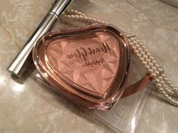 Beauty Treats Heart Highlighter - Pigmented Highlighter Powd