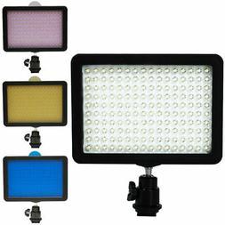 Highlight 160 LED Studio Video Light for Canon Nikon DSLR Ca