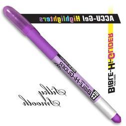 G T Luscombe 08117X Highlighter Accu Gel Bible Hi Glider Vio