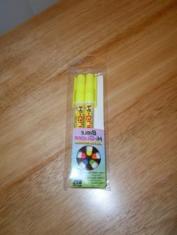 Highlighter-Bible Hi-Glider Gel Stick-Yellow 2 Pack!