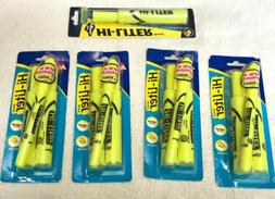 Avery Highlighter Chisel Point 2/CD Fluorescent Yellow 24081