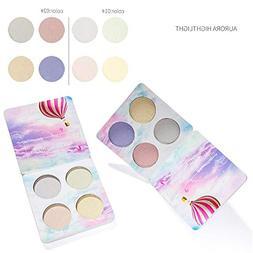 highlighter face contour palette shades