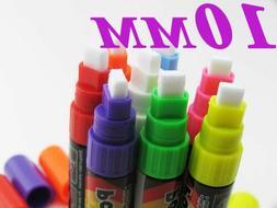 8 Pieces Highlighter Fluorescent Liquid Chalk Marker Pen for