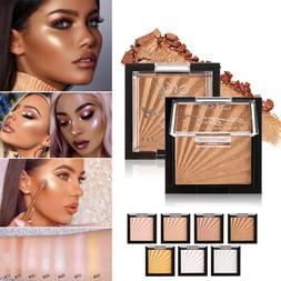 Highlighter Makeup Powder Palette Concealer Illuminator Face