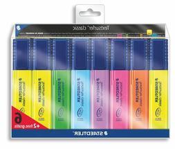 2 Asst Colours Promo Pack 6 Staedtler Highlighter Pens Staedtler Textsurfer