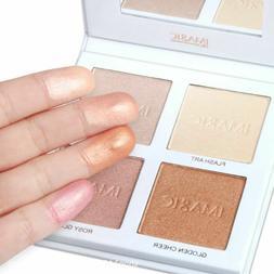 Highlighter Powder Palette Shimmer Contouring Face Bronzer M
