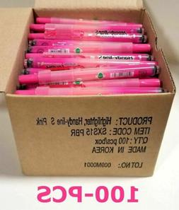 Pentel Highlighter, Retract, Refillable, Chisel Tip, Pink