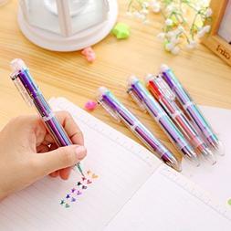 Multicolor Highlighters Marker Pens Multifunctional Ballpoin