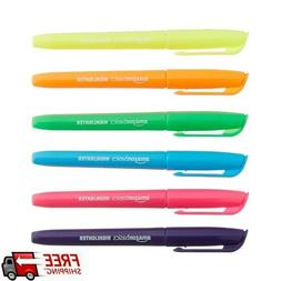highlighters set of 12 assorted colors chisel