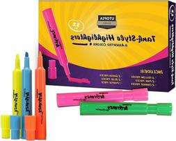 Highlighters Tank-Style, Assorted Colors, Pack Of 12--Utopia
