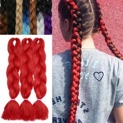 Hot Sale 24inch Highlight Ombre Xpression Jumbo Braiding Afr