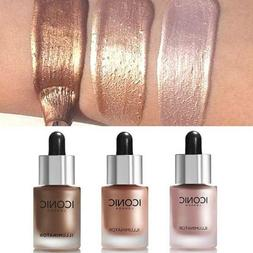 3D Highlighter Liquid Glow Makeup Highlighter Cream Conceale