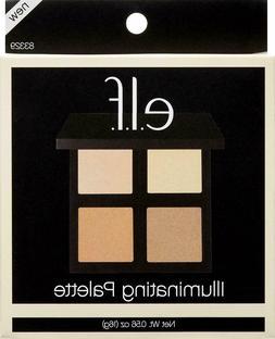 ELF Illuminating Highlighting Face Palette ~ 83329 QUAD NEW
