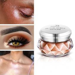Jelly Gel Face Highlighter Cream Face Body Shimmer Glitter T