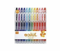 Pilot Juice Gel Ink Ballpoint Pen, 0.38 mm, 12 Color Set