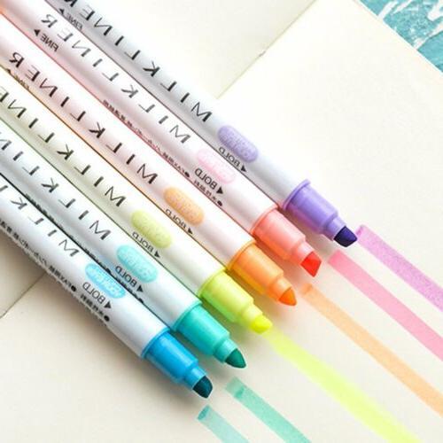 12 Highlighter Set Decorative Marking For