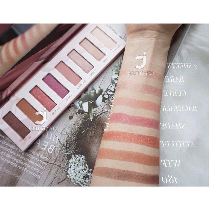 12 Colors Powder Highlighter Matte Eye