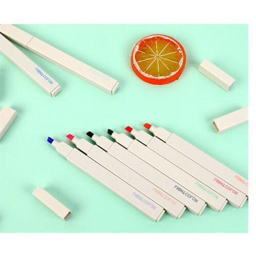 12 Soft Highlighter Cute Pens