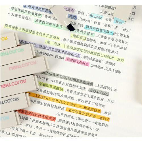 12 Colors Brush Highlighter Pens