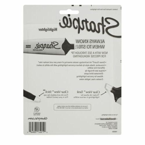 Sharpie Clear Highlighter Assorted, Pack