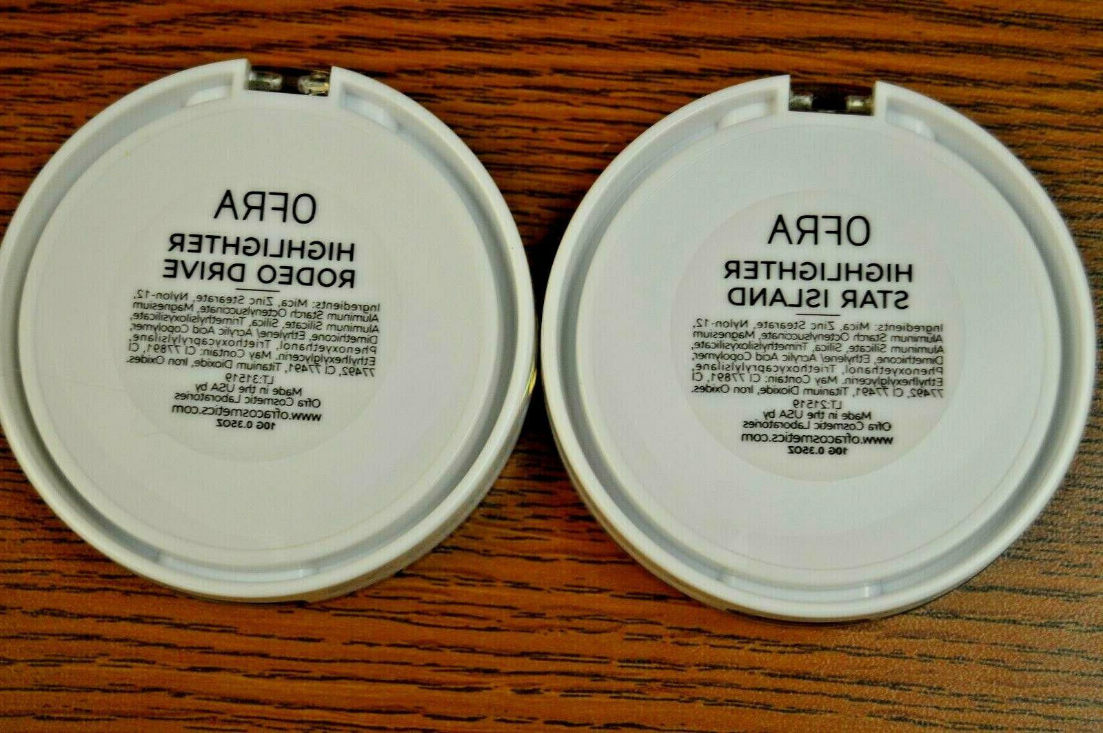 2X Cosmetic in Rodeo Drive/ Star Island ~ 0.35 Oz / 10g