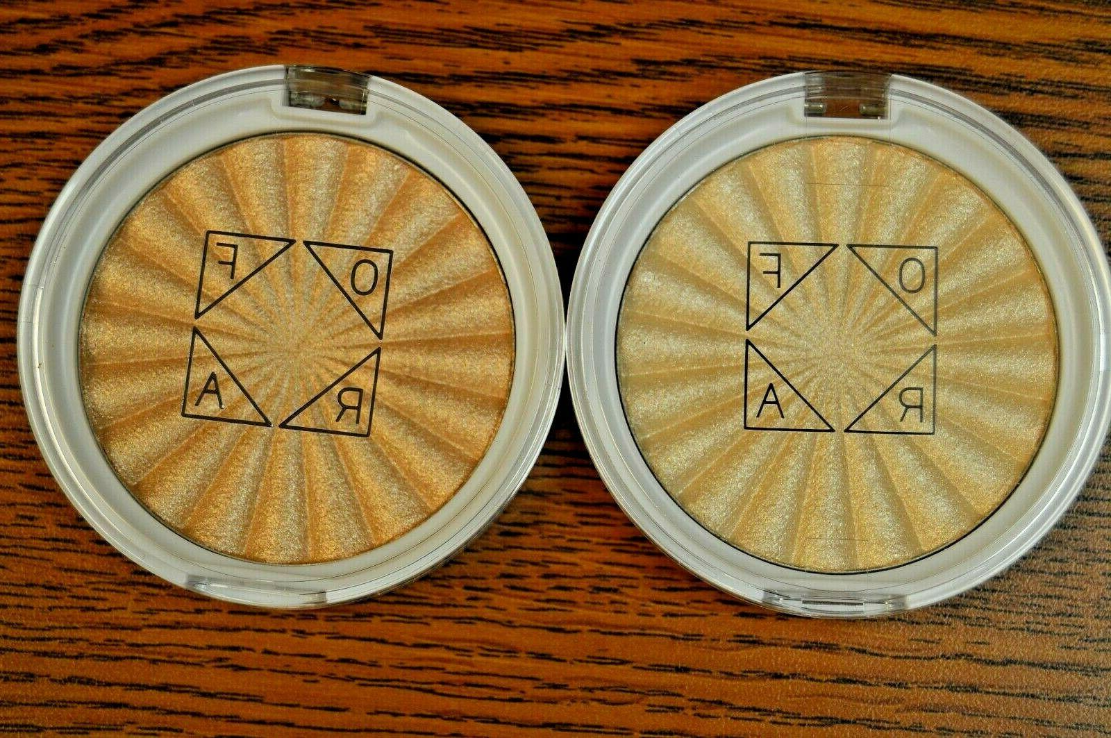 2x cosmetic highlighter in rodeo drive star