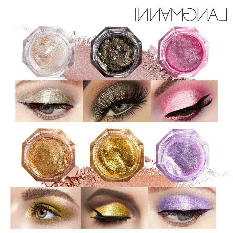 6 Colors Jelly Gel Highlighter Make Up Concealer Shimmer Fac